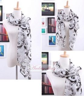 Women Lady Girls Fashion Marilyn Monroe Long Soft Scarf Wrap Shawl