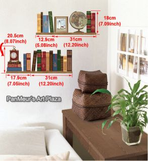 SWST 43 Library, Mural Decals Decor Home Art Removable Deco Wall