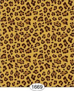 New Dollhouse Wallpaper Mural  Animal Print Leopard #1