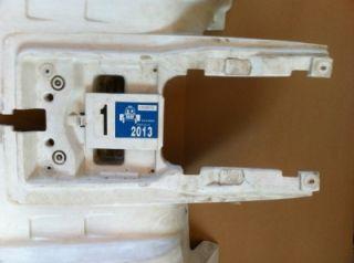 Nice Rear White Fender 2005 Yamaha Banshee YFZ 350 ATV