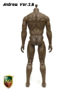 ACI 1/6 Muscular Body Andrew Ver2.0_Body+Hands+feet_black body AT026B