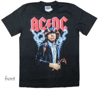 AC DC Angus Young T Shirt S118 New Size L