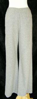 Anne Klein Super Soft Gray Wool Blend Pants Slacks 6 Business Office