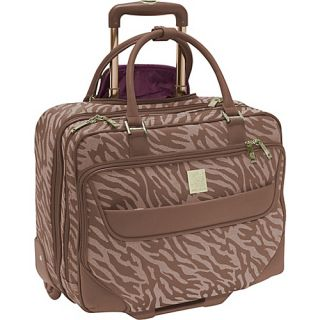 Anne Klein Luggage Lions Mane Wheeled Business Case 2 Colors