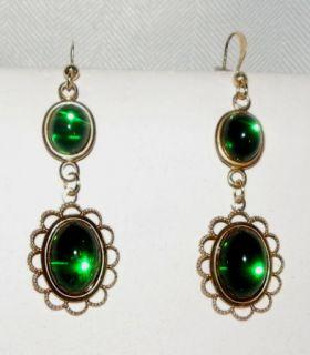 Jane Seymour Tudor Inspired Set from The Serie The Tudors Emeralds