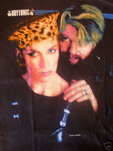 1989 Vintage Eurythmics Rock Band Shirt Annie Lennox