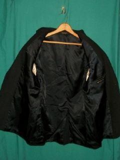 New w Tags Andrew Fezza Camel Sport Coat Dark Blue Sz 42