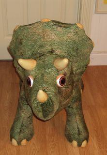 Playskool B O Kota The Triceratops Ride on Dinosaur Works