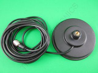 Workman PM5 CB / Ham Radio Antenna Magnet Mount with PL Plug