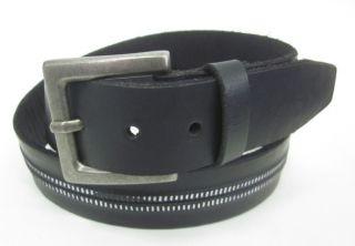 marc anthony for kohl s men s black belt sz 34
