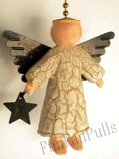 Angel Cherub Guardian Ceiling Home Decor Fan Light Pull