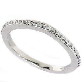 17ct 14k White Gold Diamond Wedding Anniversary Ring