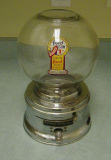 Vintage Ford Gum Ball Machine 1 Cent Parts Restore
