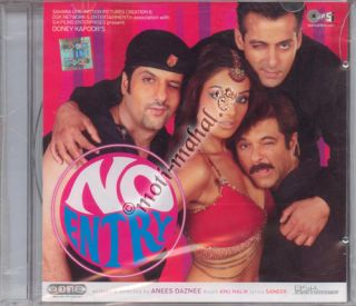 No Entry / Salman Khan, Anil Kapoor, Fardeen Khan ( Bollywood Music CD