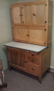 Antique Hoosier Cabinet Kitchen Hutch Beautiful NJ