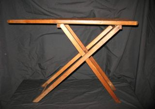 ANTIQUE VINTAGE CHILD TOY WOOD WOODEN IRONING BOARD GREAT PRIMITIVE