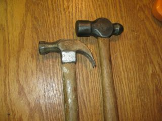 Antique Keen Kutter Hammers Claw Pien Good Vintage Farm Tools