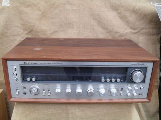 Vintage Stereo Receiver Kenwood Model Eleven III Same As KR 10000 11
