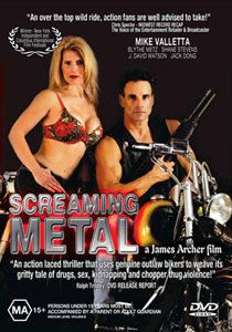 Harley Outlaw Biker Gang Movie Screaming Metal DVD