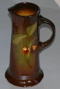 Antique Weller Louwelsa Art Pottery Victorian Tankard