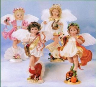 Adriana Harvest Heaven Angel Doll Georgetown Mint NRFB