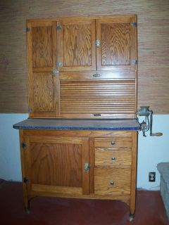 hoosier cabinet restoration on popscreen