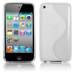 TRANS. CLEAR ACCESSORY TPU COVER SKIN CASE for apple IPOD TOUCH 4TH