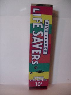 Vintage Antique Lifesaver 10 Cent Candy Vending Machine