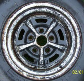 AO 1970 Chevelle SS Super Sport Wheel Rim Tire 14X7 5 X 4 3 4 Code MI0