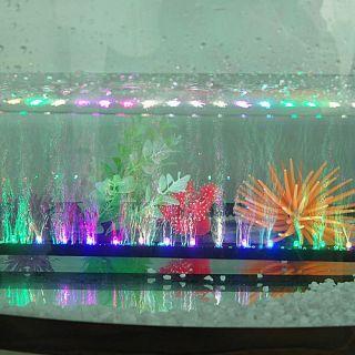 Romantic Aquarium Fish Tank Air Pump Beauty Flash Add OXYGEN Colorful