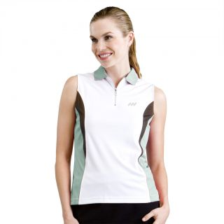 Monterey Club Ladies Dry Swing Sleeveless Golf Shirt 2139