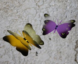 Rainbow Hanging Handmade Air Aquarium Butterfly Mobile Nursery Decor