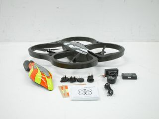 Parrot AR Drone Quadricopter Controlled by iPod Touch iPhone iPad and