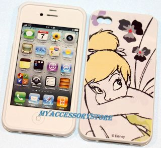 Tinkerbell Silicone Jelly Protector Skin Cell Phone Case Cover
