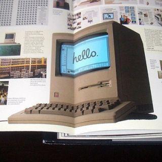 HUGE Apple Computer 10th Anniversary Photo History   Steve Jobs Lisa