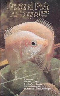 Guppies Characoids Cichlids Aquarium Tropical Fish Hobbyist Aug 1978