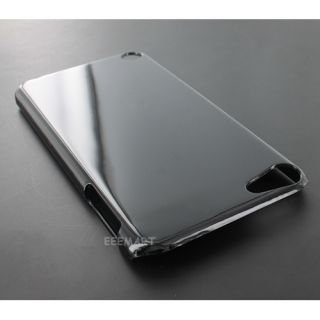 Glossy Black Hard Gel Skin Cover Case for Apple iPod Touch 5 5th Gen