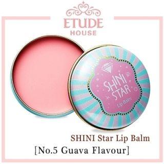 Shini Star Lip Balm 5 Guava Flavour 9g K Pop Star SHINee Taemin