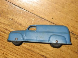 Vintage Tootsie Toy 1950 chevy panel truck utility delivery van