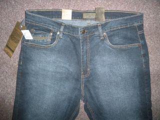 NWT URBAN STAR Mens 30x30 Jeans Relaxed Fit Straight Leg Stretch DARK