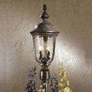 Minka Lavery Ardmore Black 2 Light Post Mount 8995 66