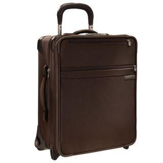 Briggs & Riley Baseline 20 Wheeled Carry On Upright Luggage CHOCOLATE