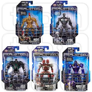 REAL STEEL figures ROBOT SET basic SERIES / WAVE 1 zeus NOISY BOY