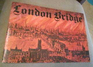London Bridge Lake Havasu City Arizona History 1971 Booklet London