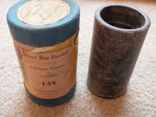 Antique Busy Bee Phonograph Cylinder Records Lot of 33