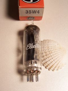 GE 35W4 AA5 Vintage Stereo Pre Amp Audio Vacuum Tube Valve Rohre NOS