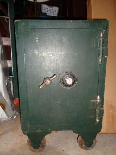 Antique Herring Hall Marvin Safe 4 tumbler Yale Lock ultra secure