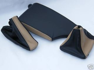 BMW E36 Arm Rest Armrest Cover Boots Real Leather