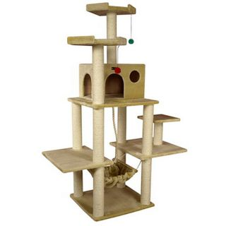 Armarkat Cat Perch Jungle Gym Scratching Tree Kitty Condo ~ A7202
