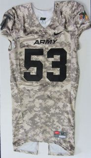 2011 Army Black Knights Camouflage Football Jersey